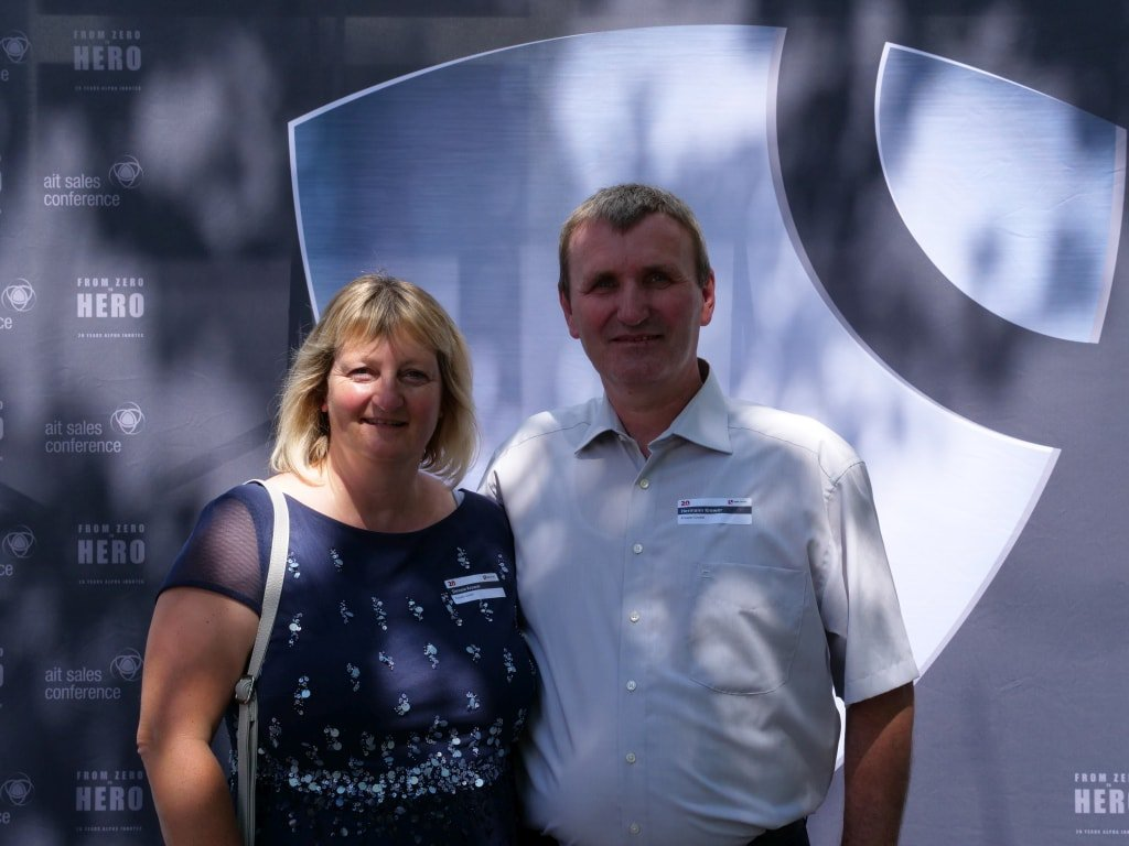 Besuch der 20 Jahr-Feier von alpha innotec in der Schweiz